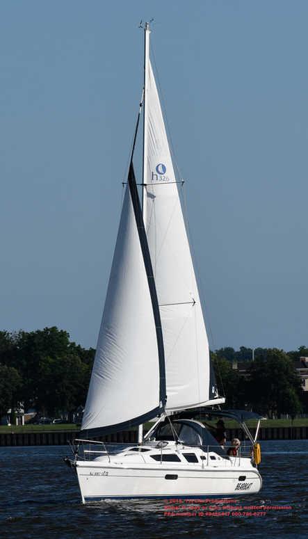 Sail Boat races on Delaware River 2