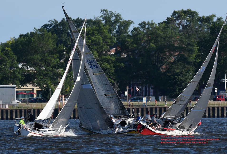 Sail Boat races on Delaware River 1