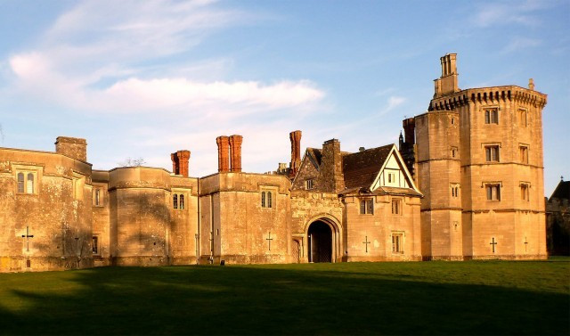 Thornbury Castle in Bristol, intimate wedding venue