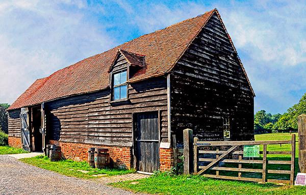 Skippings Barn, intimate wedding venue in Bucks