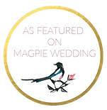 Wedding photographer featured on Magpie Wedding