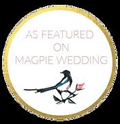 Wedding photographer featured on Magpie Wedding