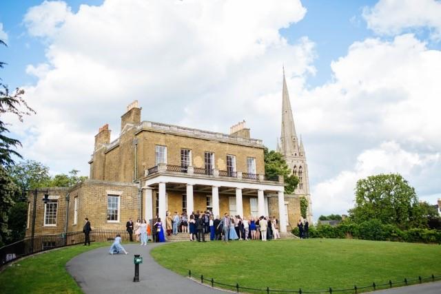 Clissold House Hackney London intimate wedding venue
