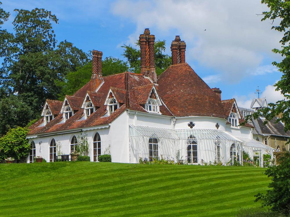 Houghton Lodge luxury intimate wedding venue Hampshire