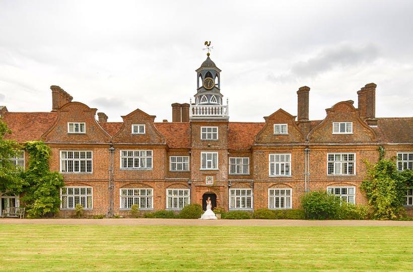 Rothamsted Manor Hertfordshire intimate wedding venue