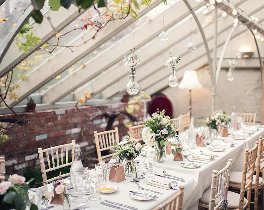 Secret Garden Kent intimate wedding venue