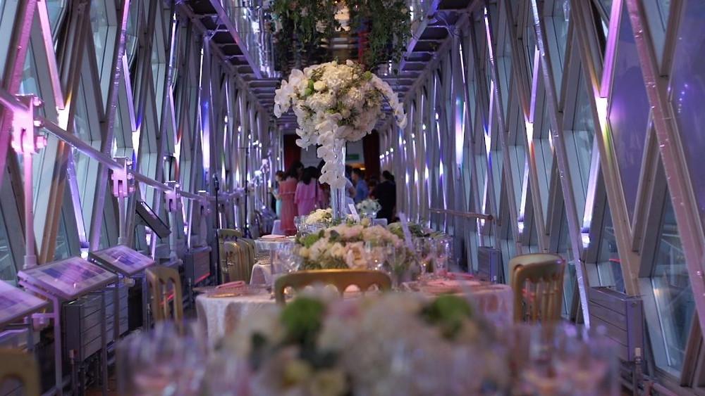 Tower Bridge London unique intimate wedding venue