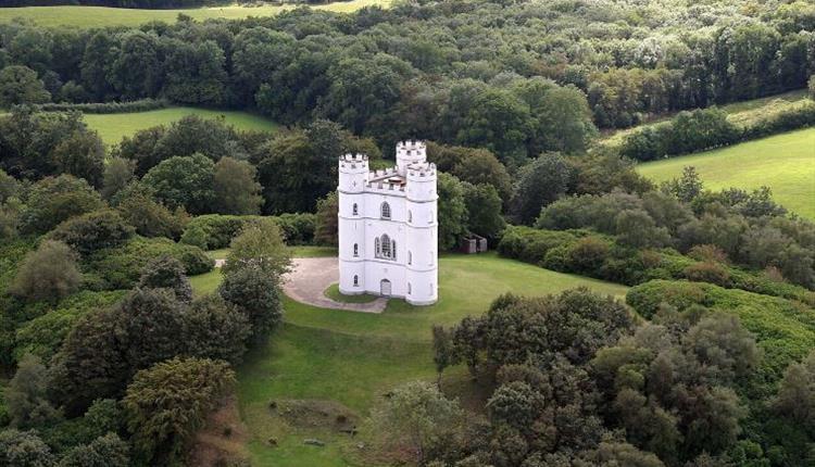 Haldon Belvedere intimate wedding venue in Devon