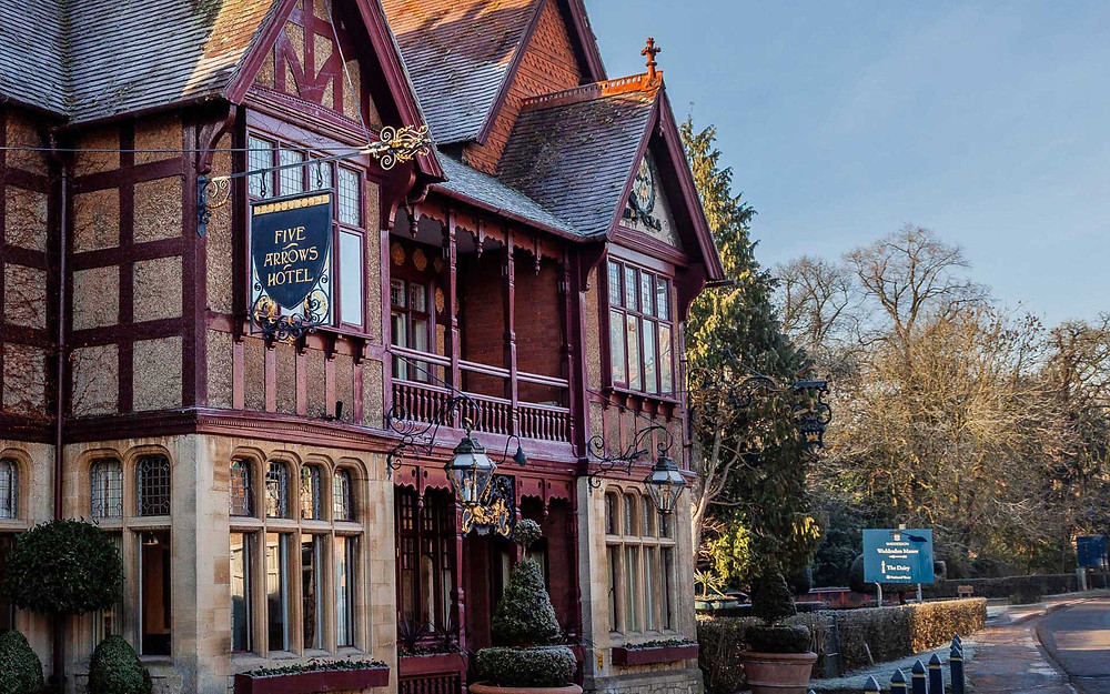 The Five Arrows Hotel, intimate wedding venue in Buckinghamshire