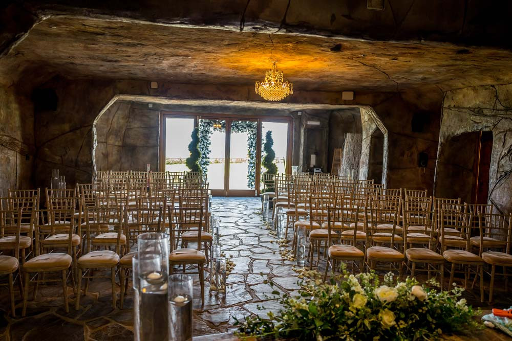 Ocean Kave intimate unusual wedding venue Devon