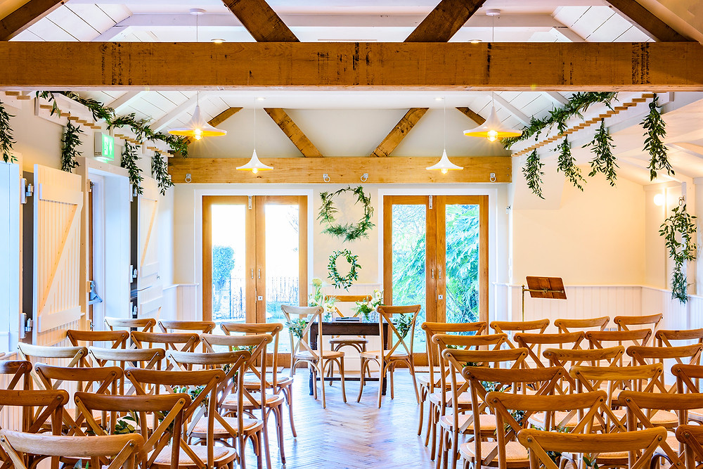 Intimate wedding venue Malmesbury Gloucestershire No 1 Abbey Row