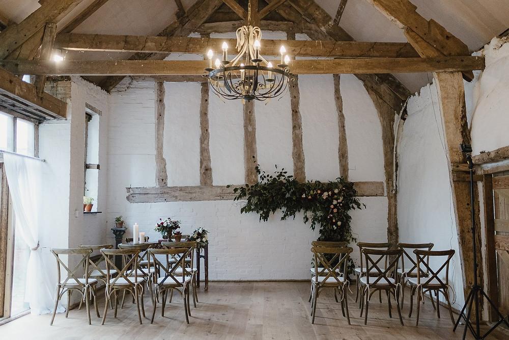 Rock Farm intimate Devon wedding venue
