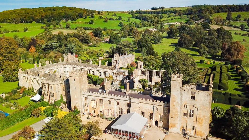 Sudeley Castle Cheltenham luxury wedding venue