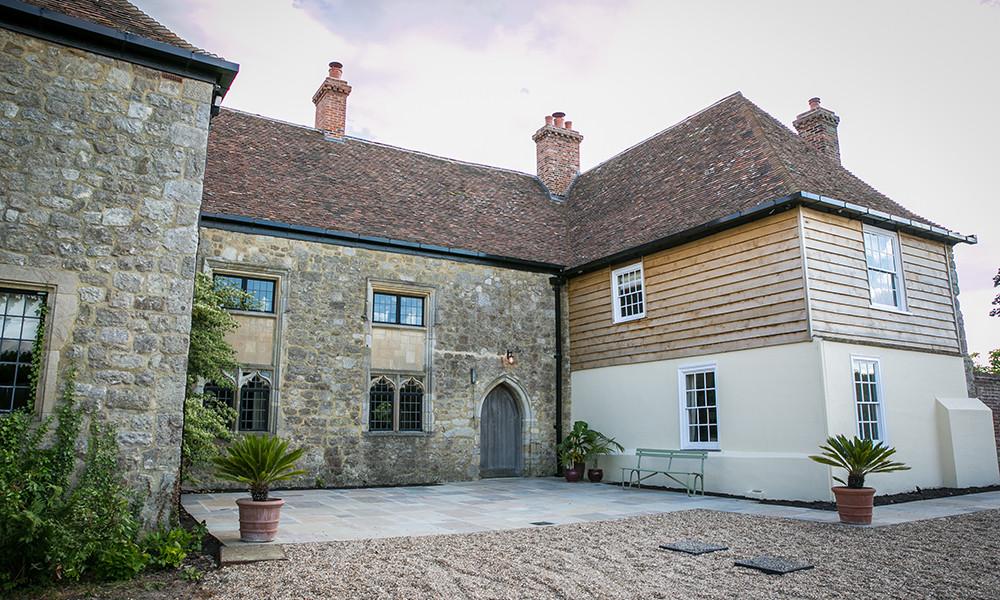 Battel Hall Leeds Castle Kent intimate wedding venue