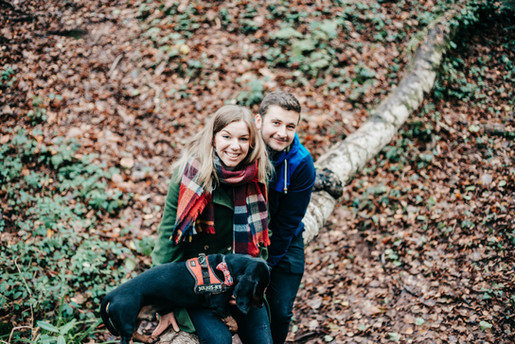 Leigh Woods Bristol natural engagement photography