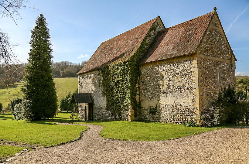 The Lost Village of Dode unique alternative intimate Kent wedding venue