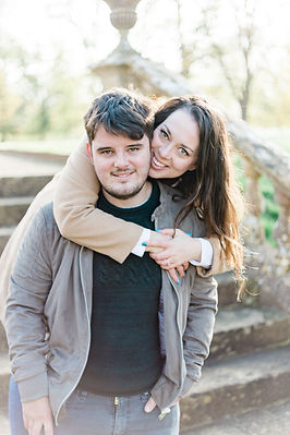 Engagement shoot at Montacute House in Yeovil, Somerset
