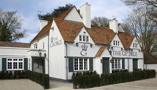 The George pub in Wraysbury, intimate wedding venue