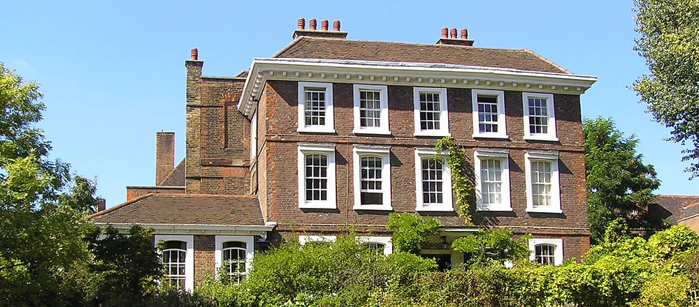 Burgh House in Hampstead, London, intimate wedding venue