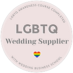 Approved LGBT friendly wedding photographer in London