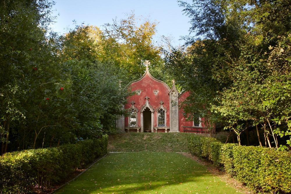 Painswick Rococo Garden outdoor intimate wedding venue Gloucestershire