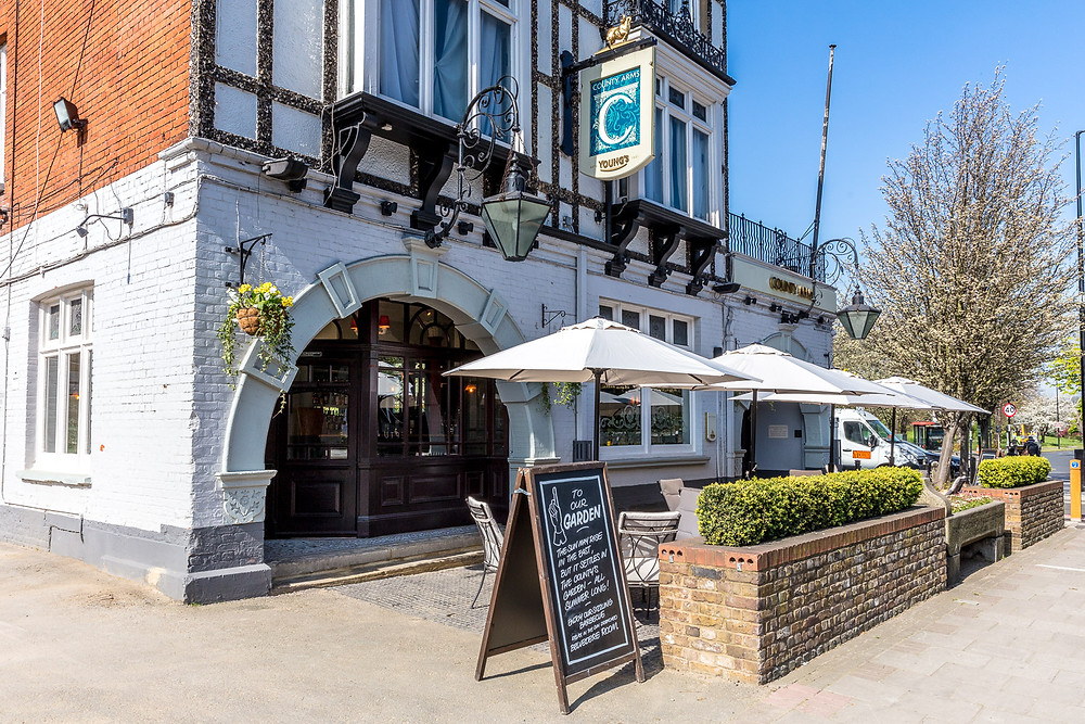 County Arms Wandsworth London, intimate wedding venue