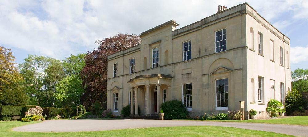Backwell House intimate Somerset wedding venue