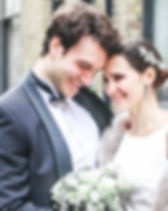 Bloomsbury wedding, bride and groom, London wedding, urban wedding