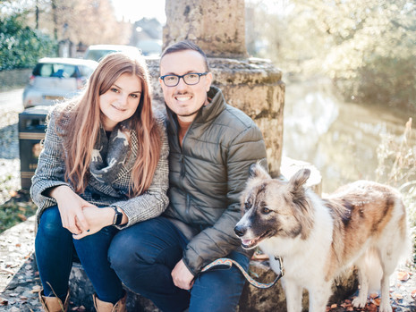 Engagement shoot: Beckie & Mike, Nunney Castle