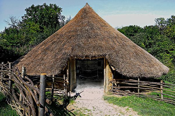 Iron Age Roundhouse unique alternative wedding venue