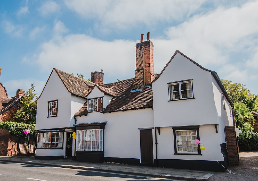 Intimate wedding venue The Old House Rochford Essex