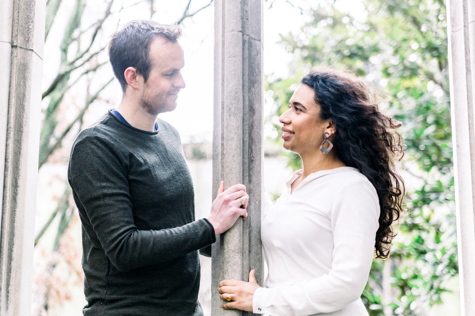 St Dunstan in the East engagement photos