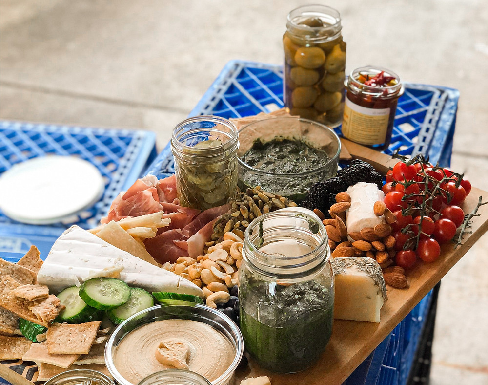 The Perfect Southern Charcuterie Board