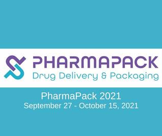 September 27-October 15, 2021: PharmaPack Europe