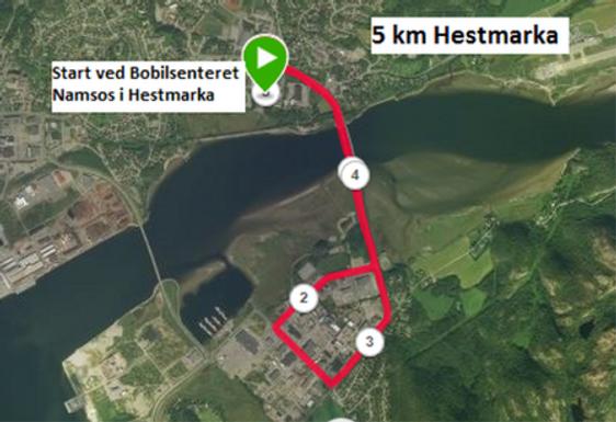 Ukas løp uke 19 - 5 km Hestmarka