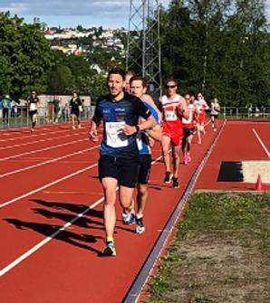 3000m fest på Trondheim Stadion!