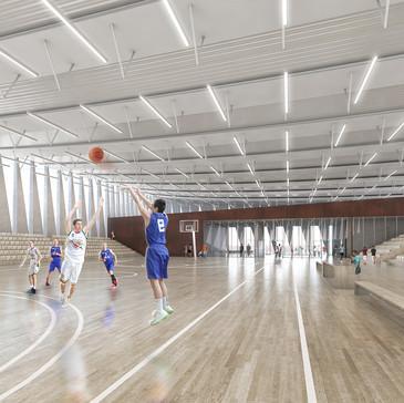 salle de basket - Calais