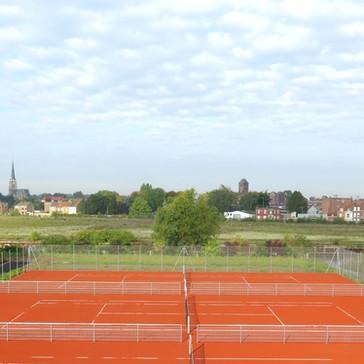 courts de tennis extérieur - La Madeleine