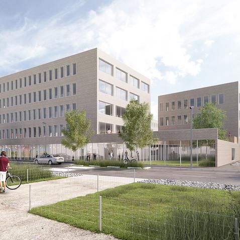 immeuble de bureaux - Euratechnologie