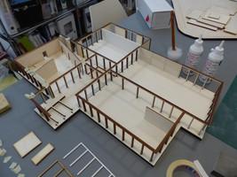 maquette bois - Abscon
