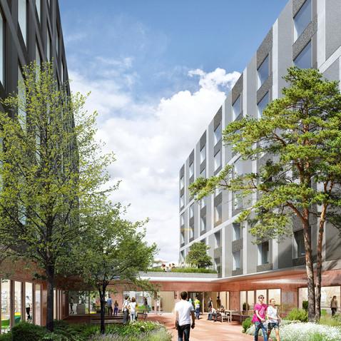 immeubles mixtes - campus gare - Roubaix