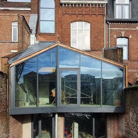 réhabilitation et extension d'une maison à Lille