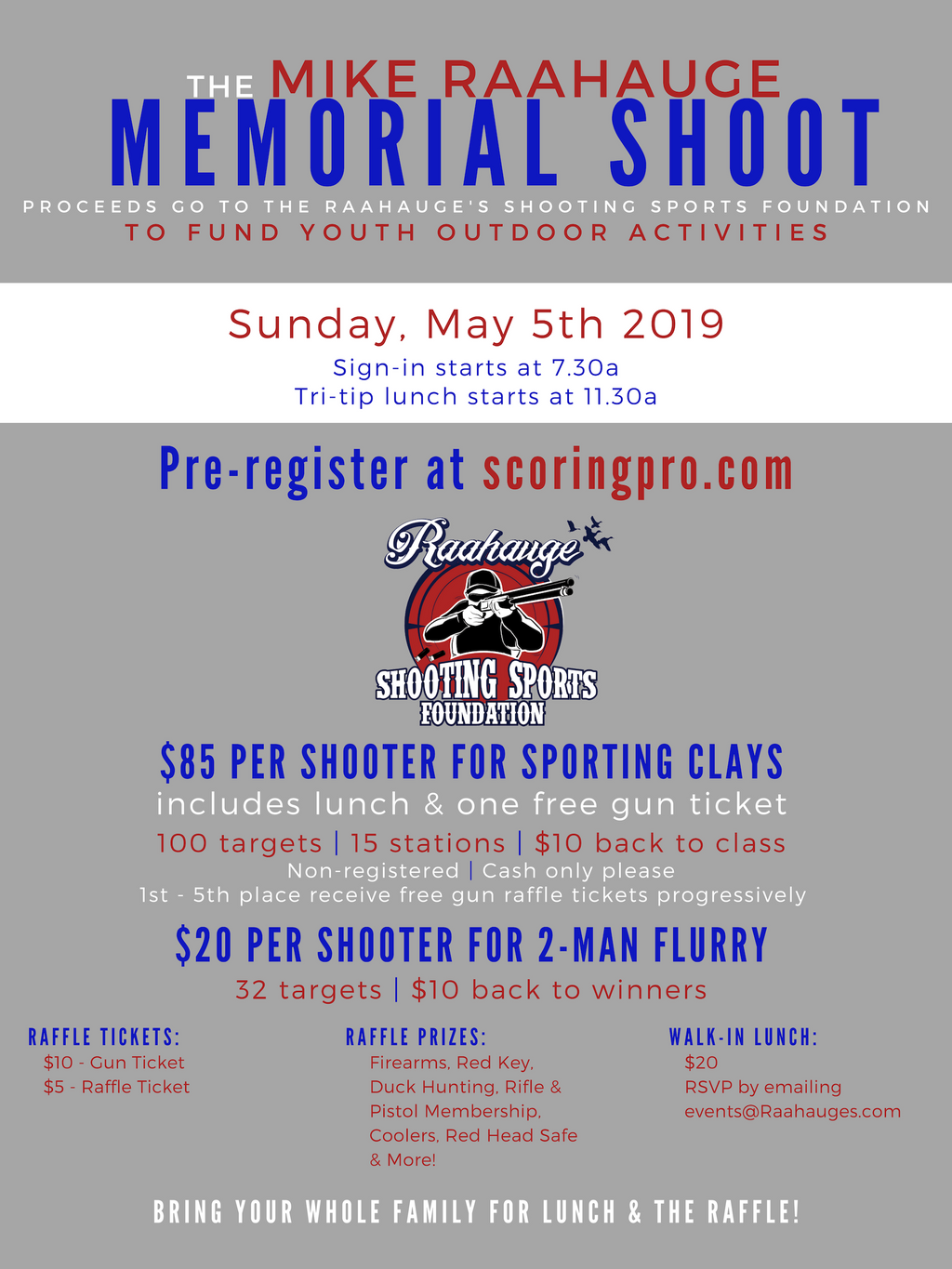 Raahauge Shooting Sports Foundation Presents Youth Day 2019