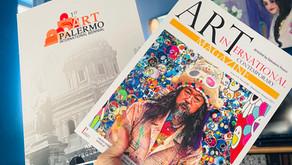 The catalog of the 1st International Biennial of Art in the World第一届意大利巴勒莫世界艺术双年展目录