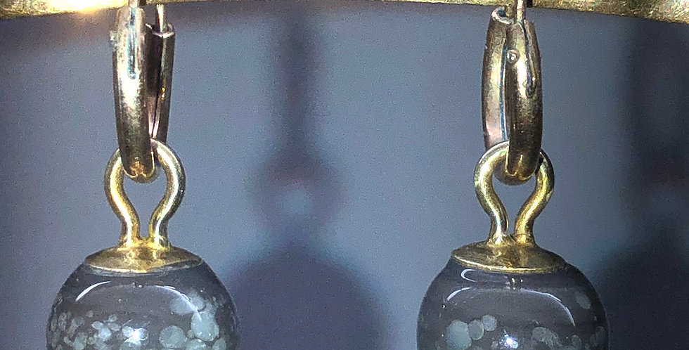 1920s hoops with Edwardian drops