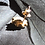 Thumbnail: 15ct gold Victorian stud with gypsy set diamond