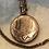 Thumbnail: Edwardian gilt locket and chain