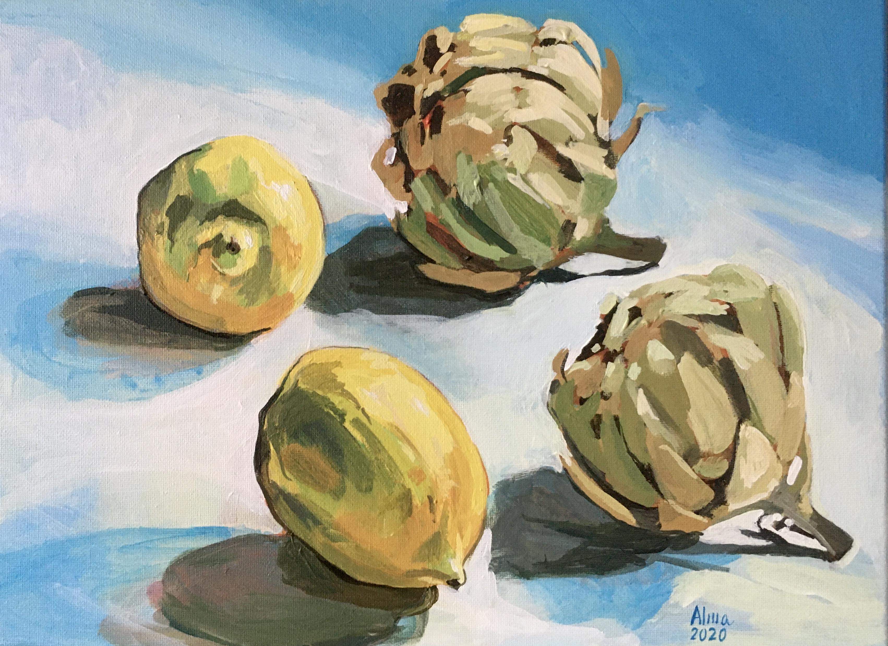 Limoni e carciofi-pensando a Pertosa