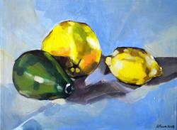 Avocado e limoni- Avocado and lemons