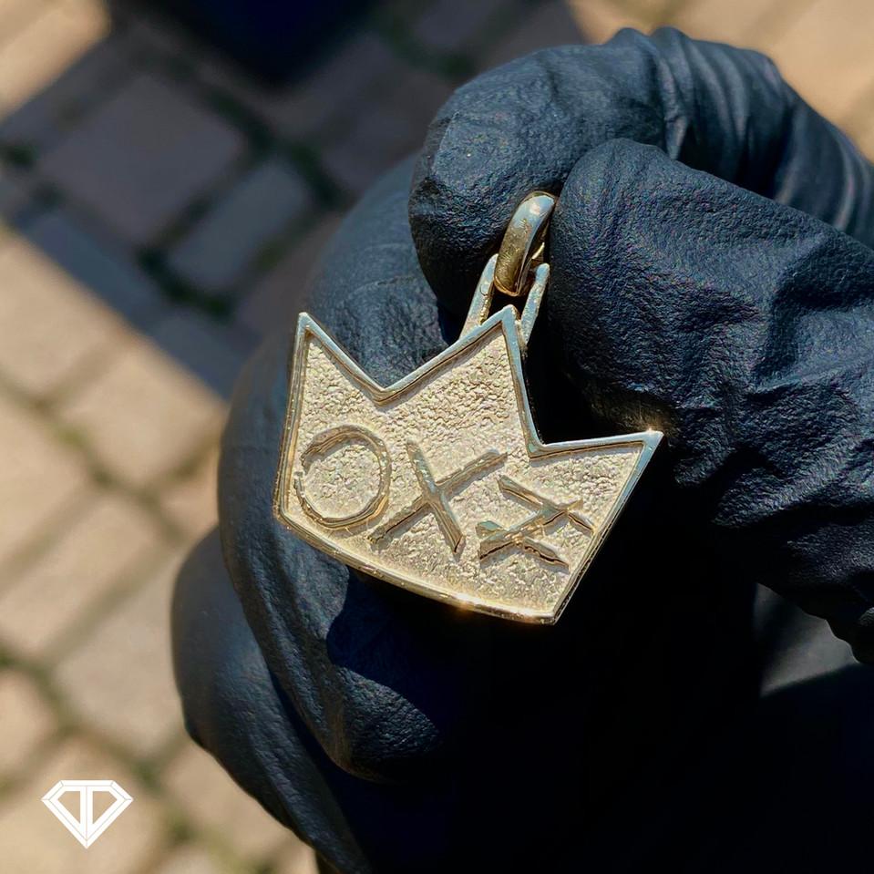 10k Custom Pendant